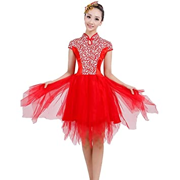bb9f257ee60d Wgwioo Classical Dance Costumes Women S Fashion Allegro Performance ...