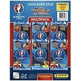 Euro 2016euro16amp Panini Adrenalyn Trading Card Multipack mit 6versiegelten Pakete 54zufällige Karten plus 1zufällige Limited Edition UK Version (X-Large)