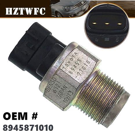 HZTWFC Nouveau capteur de pression de rampe de carburant 89458-71010 8945871010 OEM # 89458-71010