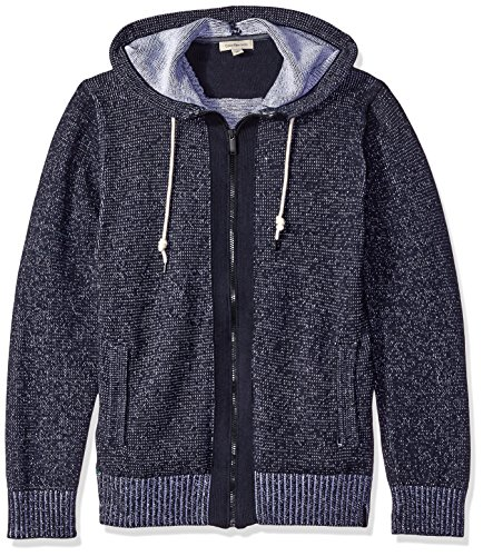 Classic Update Hoody (Calvin Klein Jeans Men's Plated Jersey Hoodie, Classic Navy, X-Large)