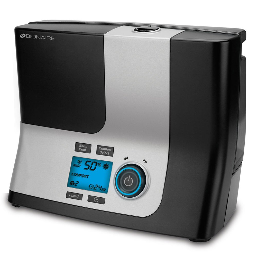 Bionaire Ultrasonic Humidifier with Warm & Cool Options by Bionaire