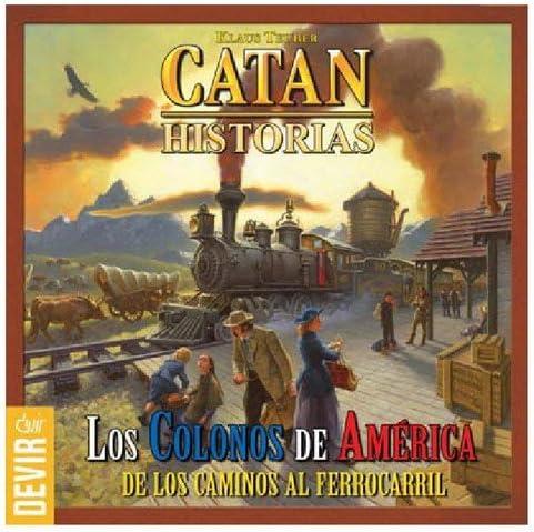 DEVIR Catan Los colonos de América, Juego de mesa: Amazon.es ...