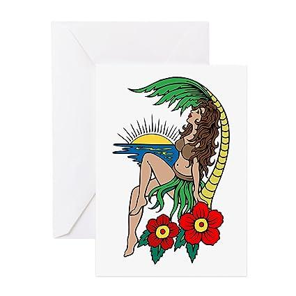 girl tattoo hula Hawaiian