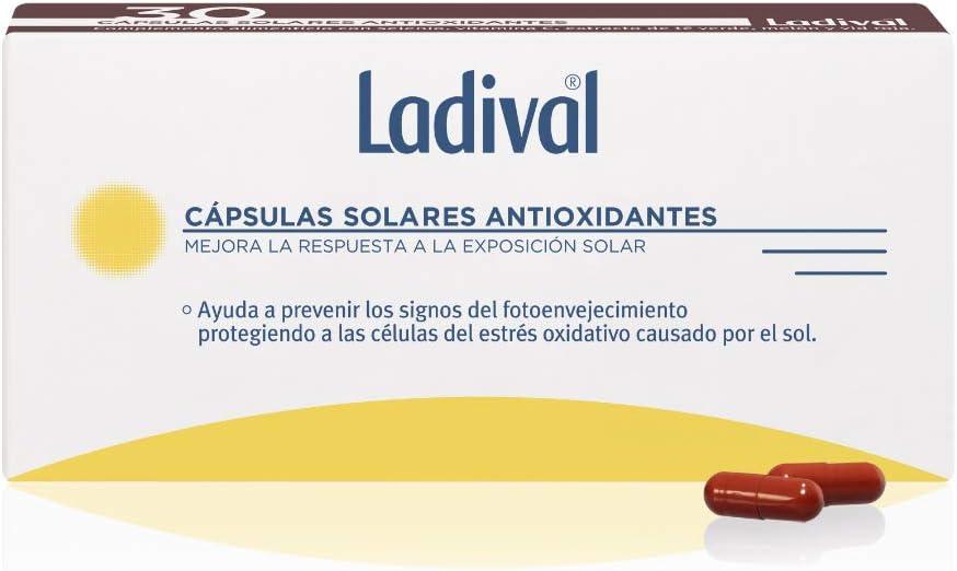 Ladival Cápsulas Solares Antioxidantes para un bronceado homogeneo - 30 Unidades