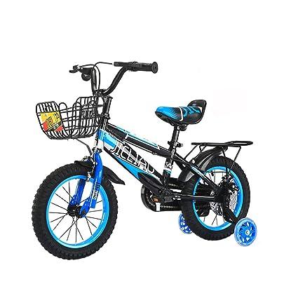 c23c00134a Biciclette per bambini da 14/16 di pollice per bambini a pedali in  bicicletta 3-6/5-8 anni ...
