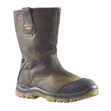 Botas de seguridad DeWalt pulsera impermeable supertouch marrón talla 8