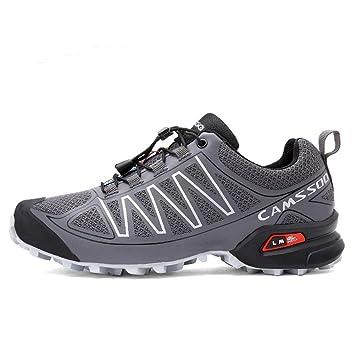Mens / Damen Wandern Schuhe Sommer und Herbst Fashion Outdoor Sneaker für Trekking Bergsteigen Breathable Leicht und Anti-Rutsch , grey , 40