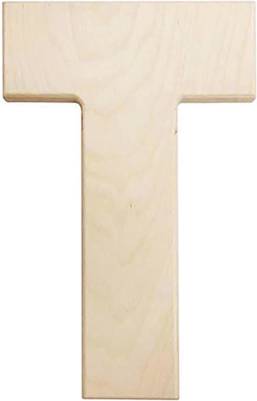 Capital B 12 in Darice U0993-B Bold Solid Wood Letter