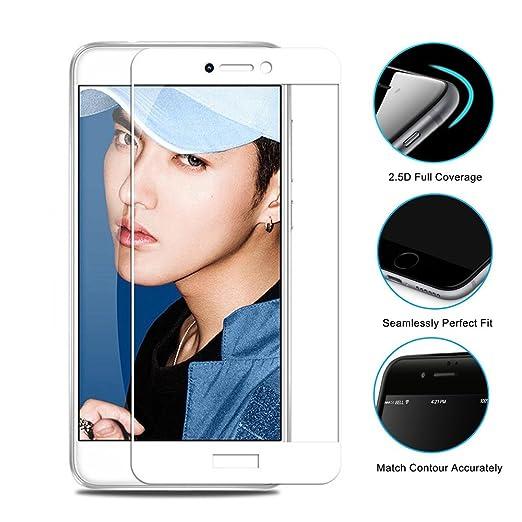 8 opinioni per Vetro Temperato Huawei P8 Lite 2017, 2.5D Pellicola Protettiva in Vetro