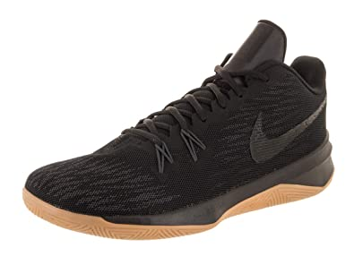 7c2ac426b648 Image Unavailable. Image not available for. Color  Nike Men s Zoom Evidence  II Black Black Anthracite Basketball Shoe 10 Men US