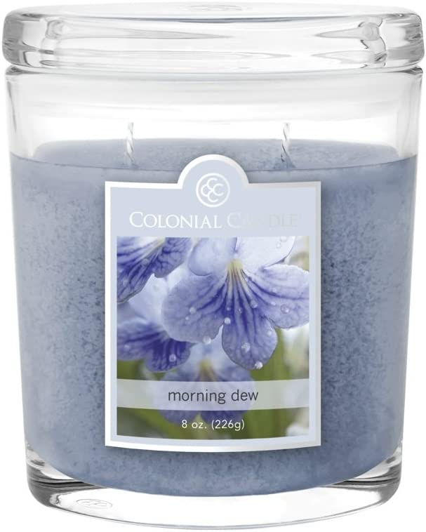 Colonial Candle CC008.4651 Morning Dew Scented Candle, 8 oz