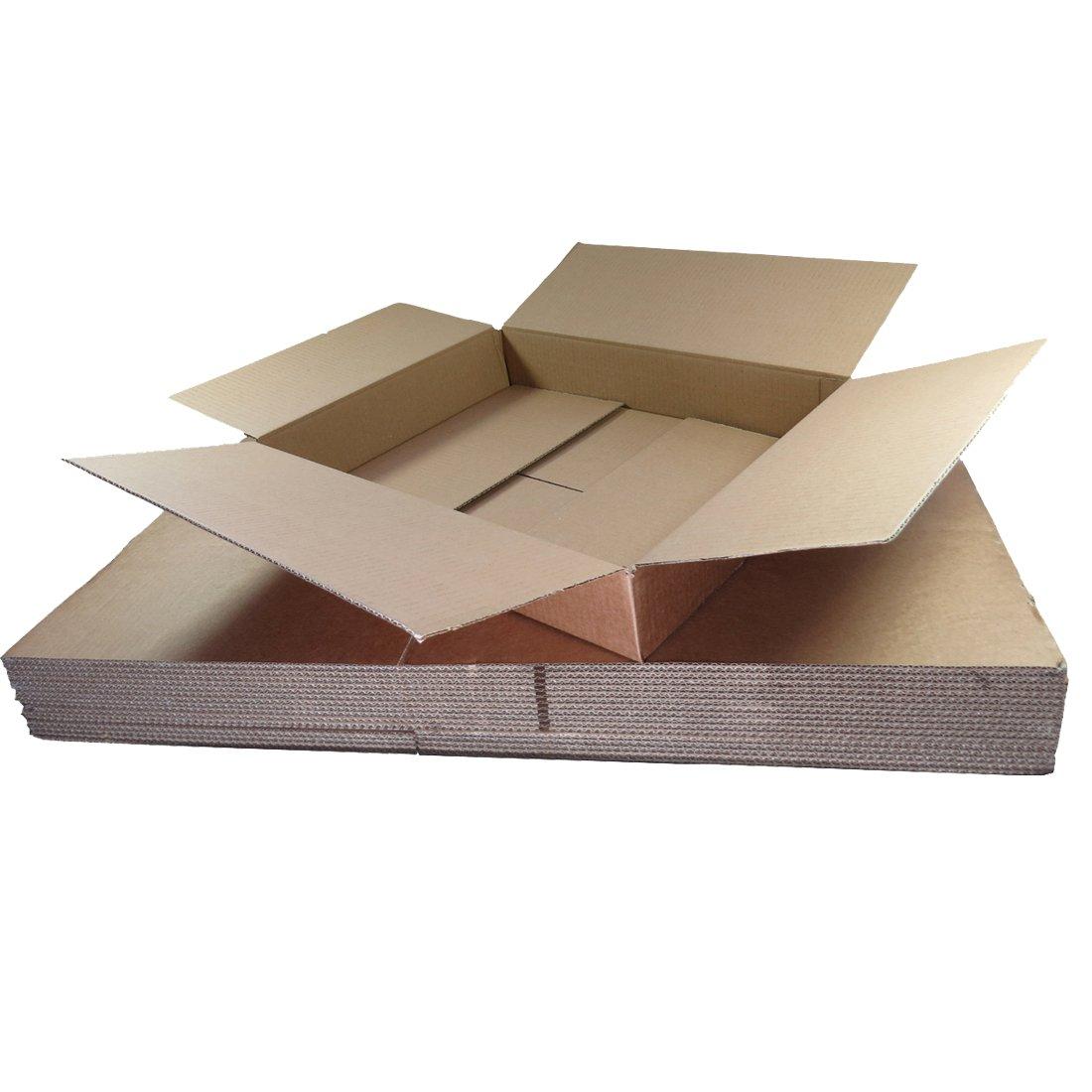 Triplast TPLBX10SINGL Scatole in cartone piccole per spedizioni, 449 x 349 x 159 mm TPLBX10SINGL17.5X13.5X5.7