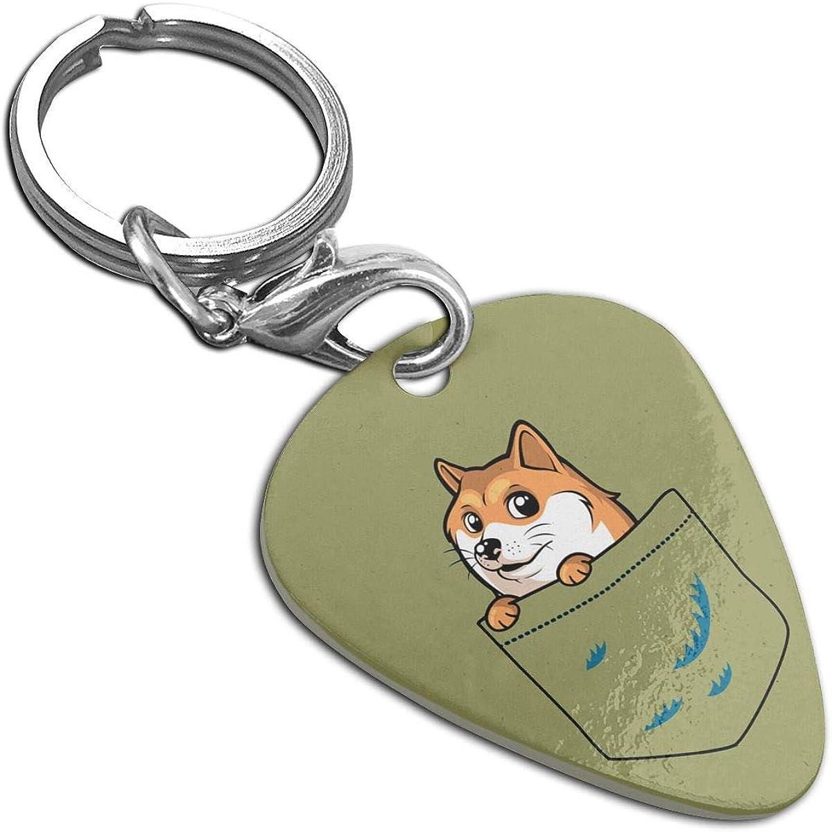 Dingo Image Metal Chunky Keyring in Gift Box