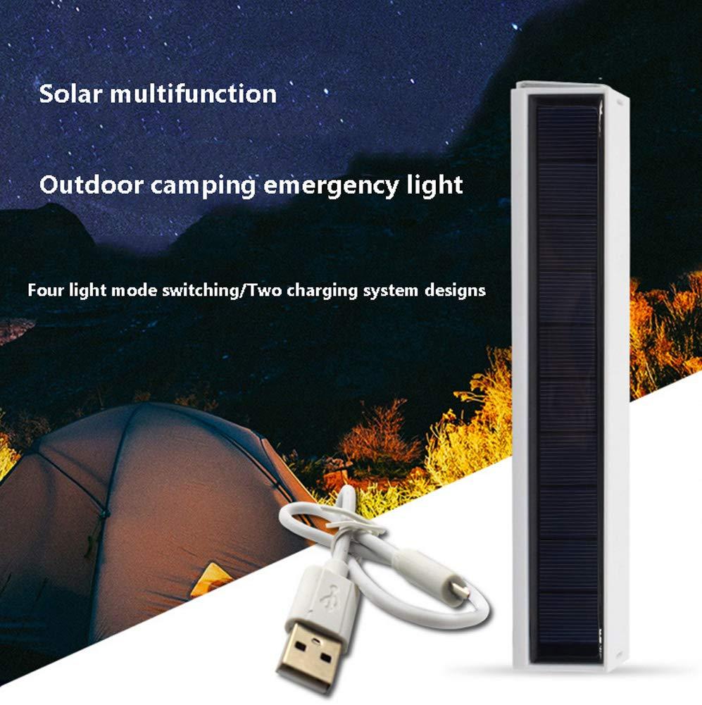 KANGYANLONG Luz Que acampa Solar, luz portátil Impermeable ...