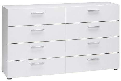 online store 75a84 c6a82 Tvilum Austin 8-Drawer Dresser, White