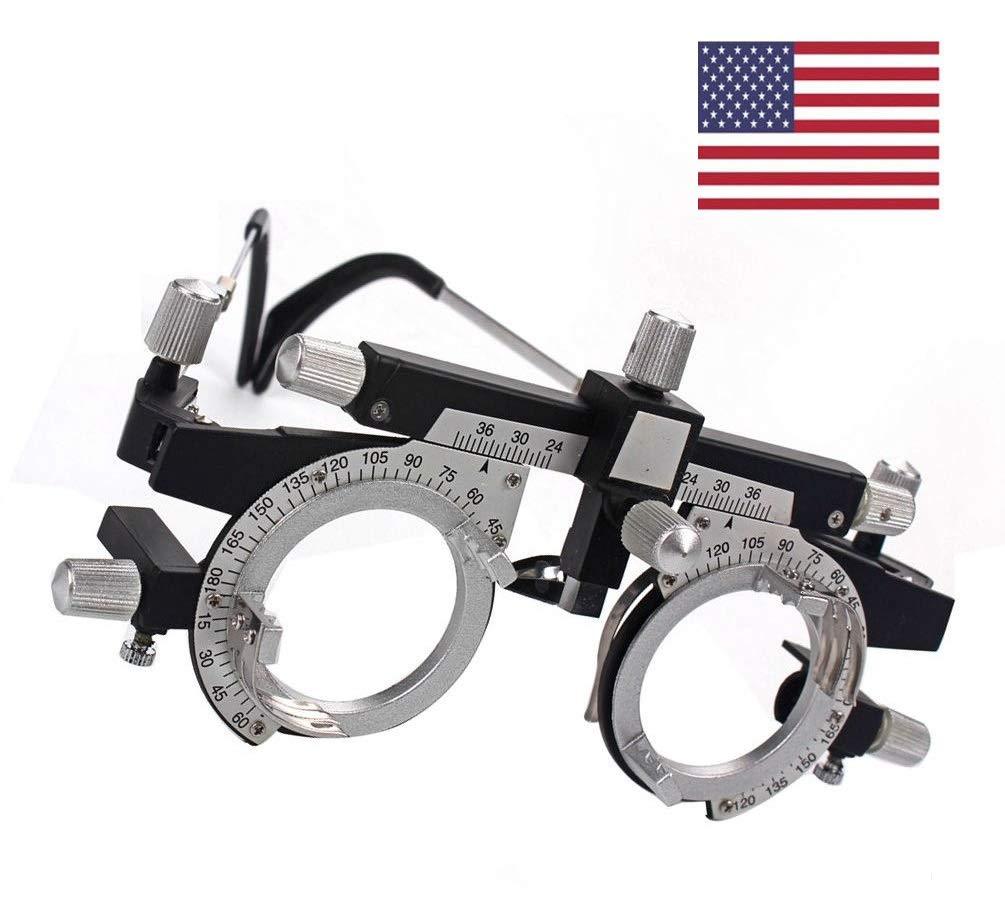 EFK-II Supply Optical Trial Frame Titanium Adjustable Optical Optic Trial Lens Frame by EFK-II Supply (Image #1)