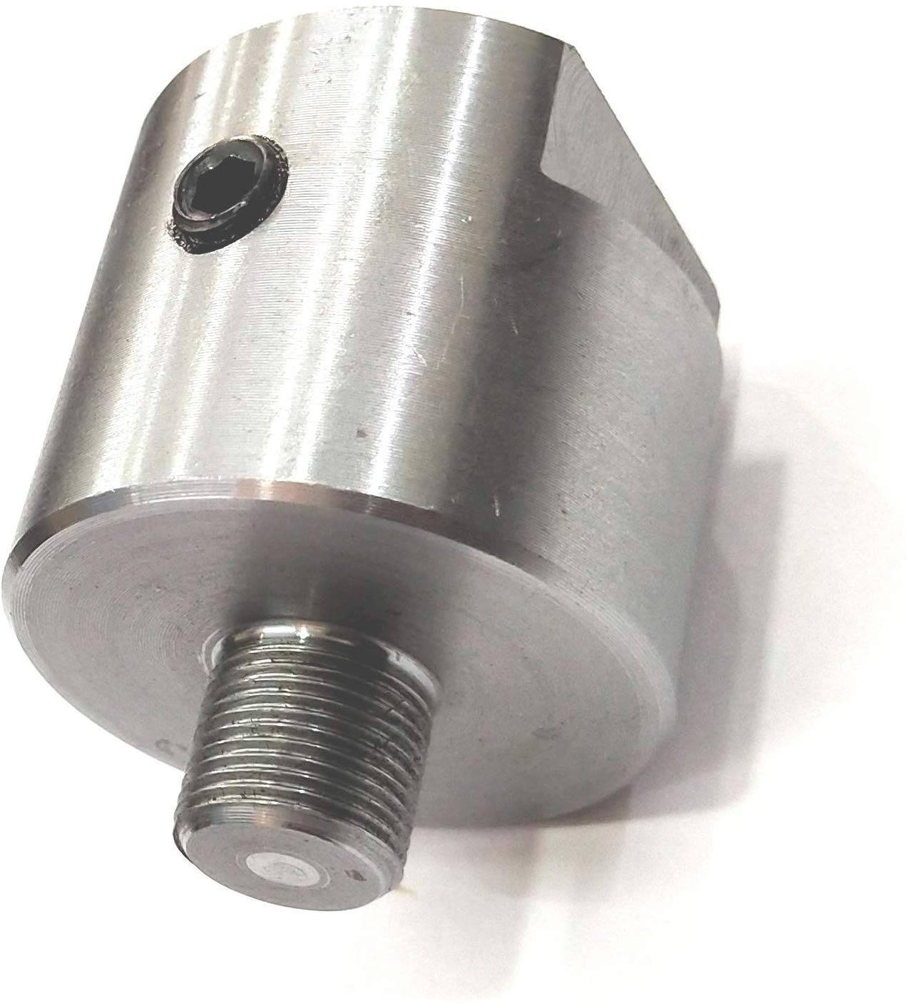 Adaptador de eje de torno de calidad preciosa que conecta eje de m/áquina de 1 pulgada x 8 TPI a mandriles roscados M14 x 1