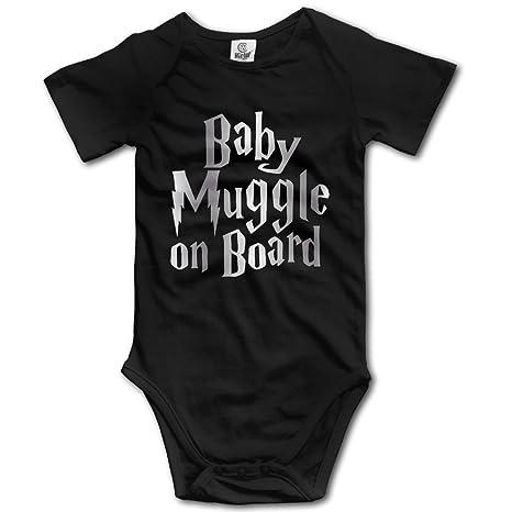 dfa9e643fd9 Harry Potter Baby Platinum Style Black Baby Romper Jumpsuit  Amazon.ca   Clothing   Accessories