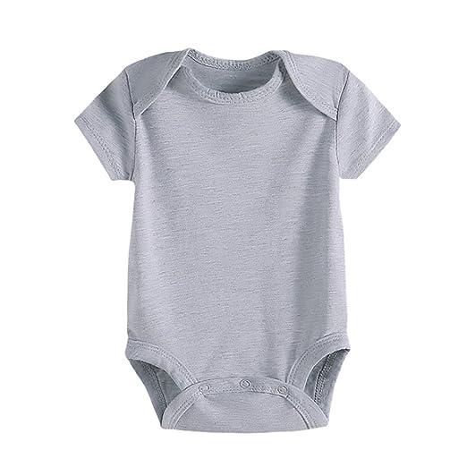 337863719 Amazon.com  Baby Clothes Premium Cotton Neutral Jumpsuit Short ...