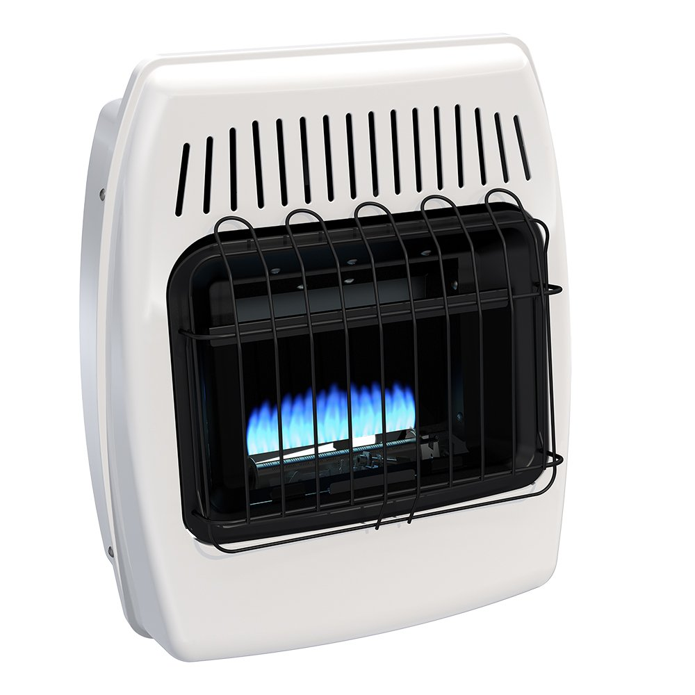 Dyna-Glo BF10NMDG 10,000 BTU Natural Gas Blue Flame Vent Free Wall Heater