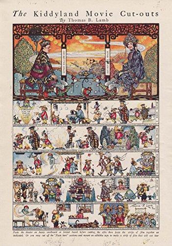 Kiddieland Movie Cut-outs paper doll page / Swinnerton Canyon Kiddies 1923 (Page Cut Outs)