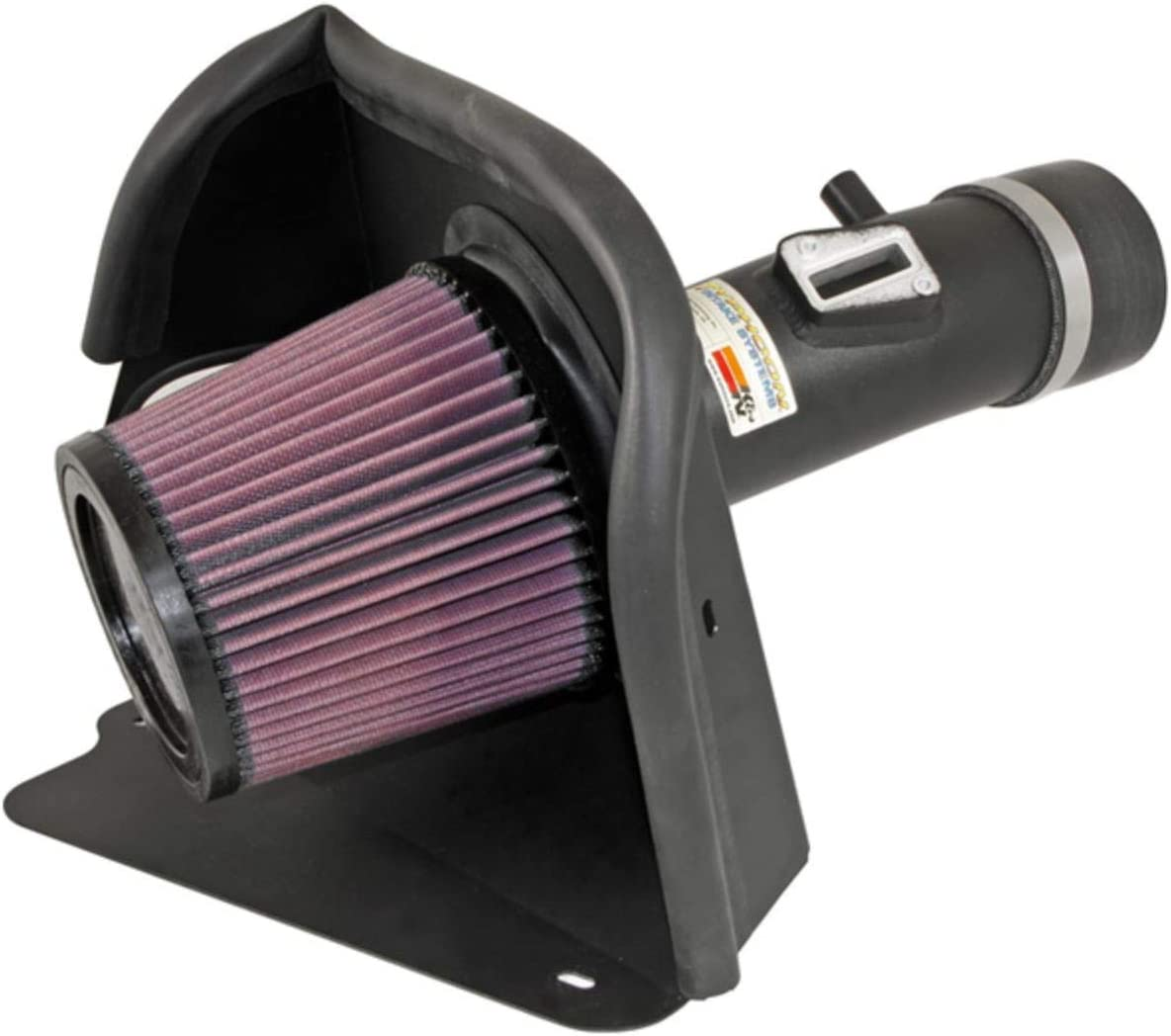 K/&N 69-7062TTK 69 Series Black Typhoon Air Intake System