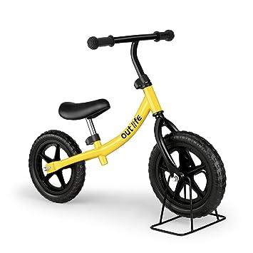 Outlife Bicicleta Infantil sin Pedales con Sillín Regulable, Bicicleta de Equilibrio, Balance Bicicleta Bebe