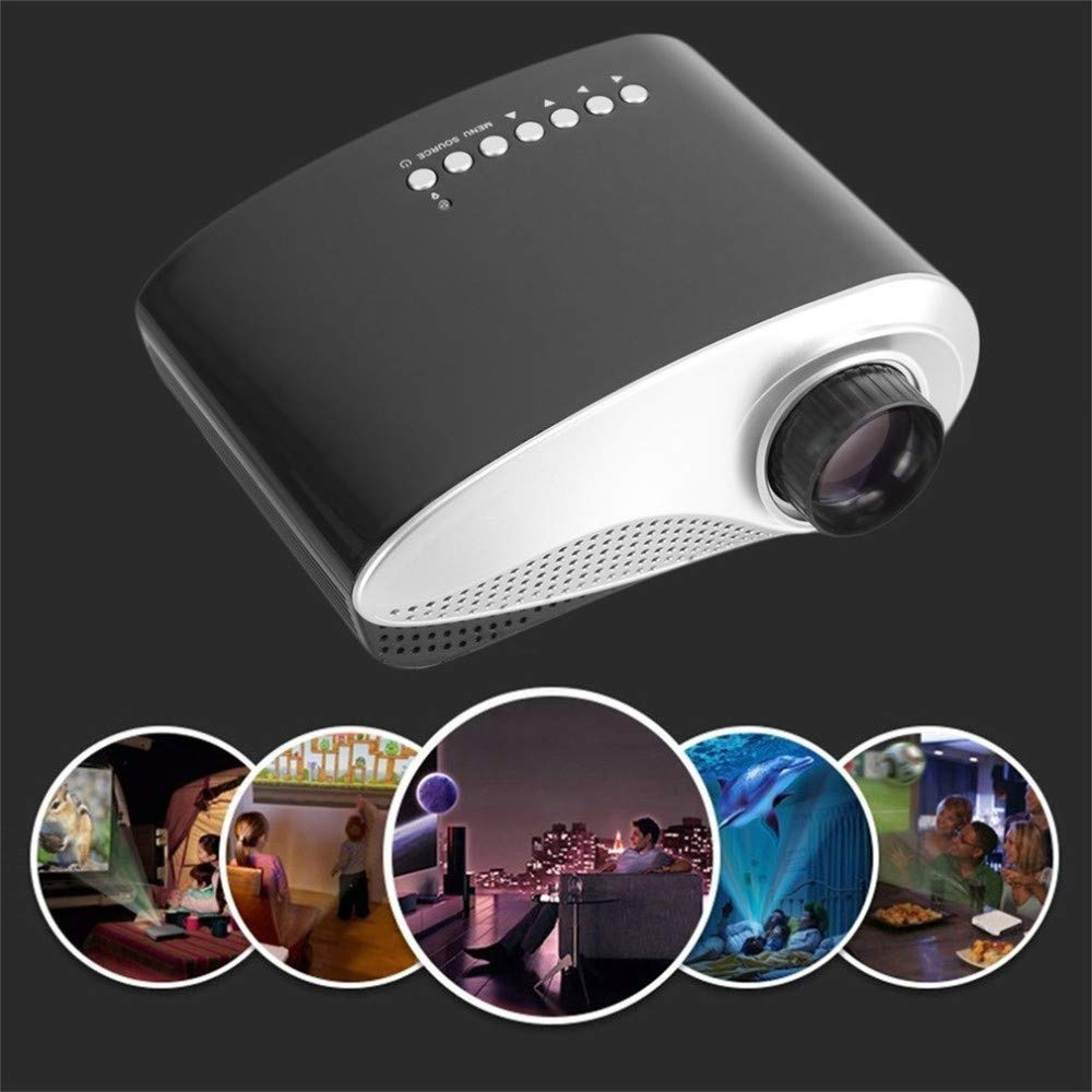 Amazon.com: QUARKJK Portable Mini Projector Home Theater ...