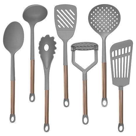 Amazon.com: Cook with Color - Juego de utensilios de cocina ...