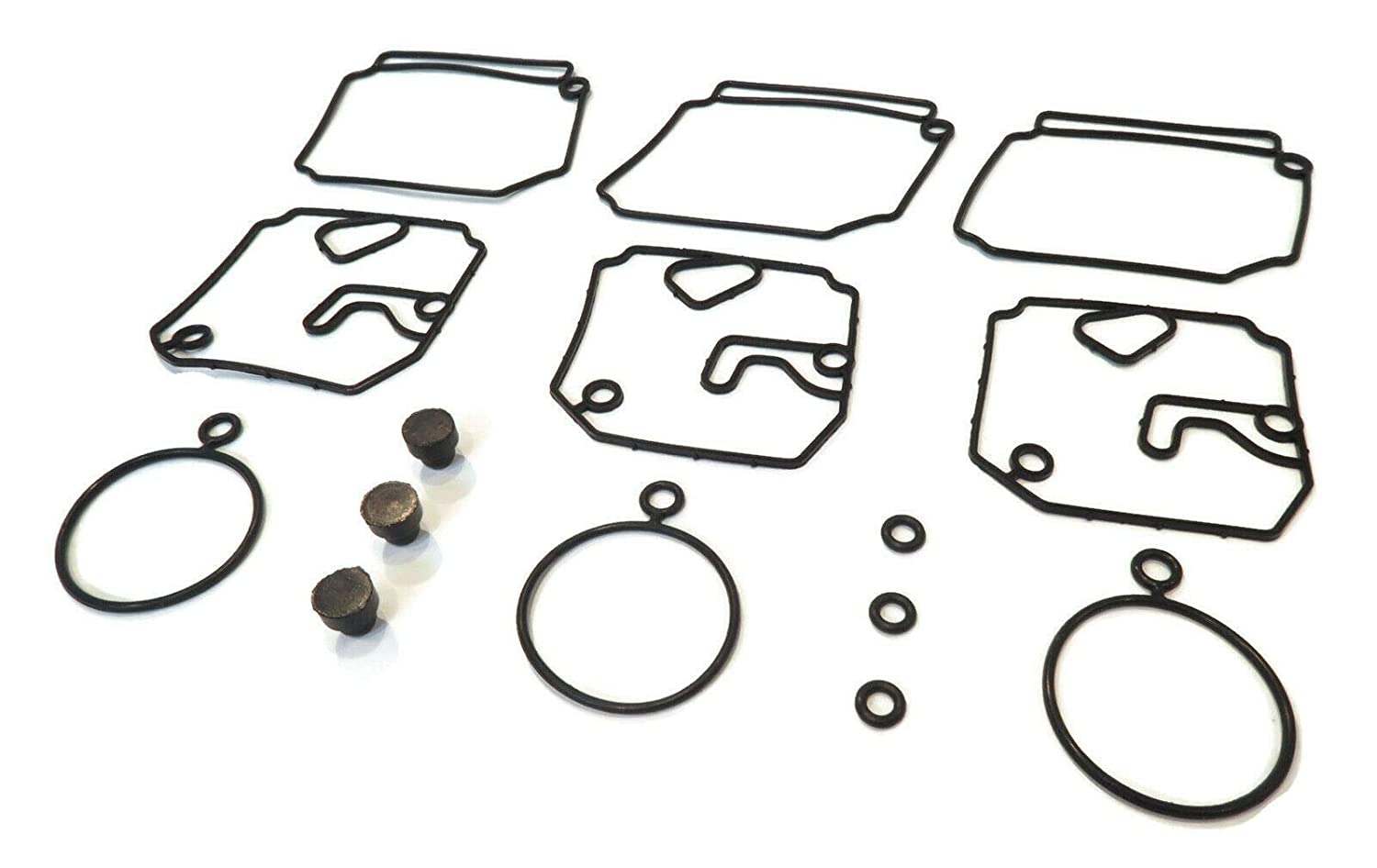 The ROP Shop Carburetor Repair Kit for Yamaha 40HP Outboard 40TLRB 40MLHP 40TLRS 40MSHR