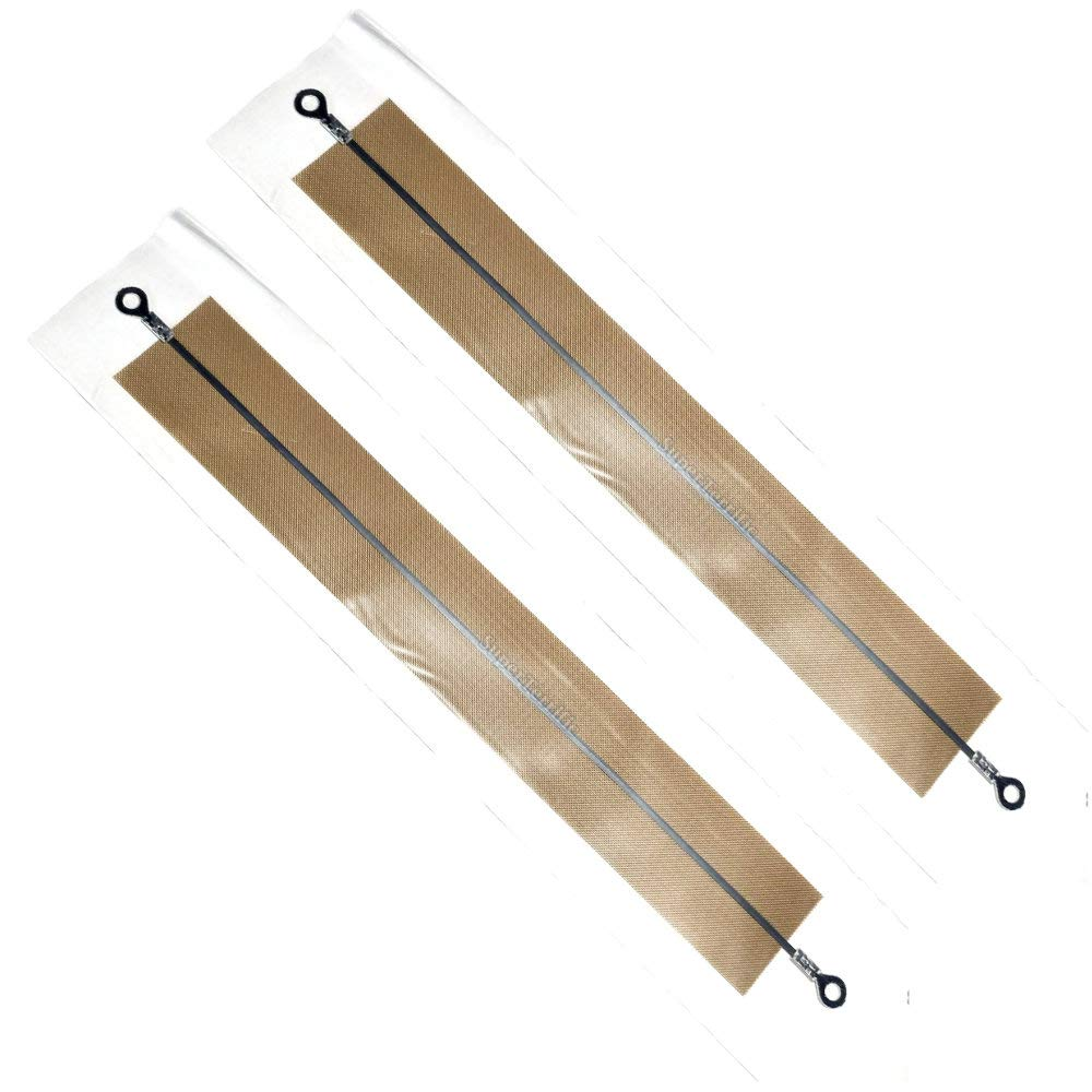 "2-Pack: 8"" inch Impulse Sealer ???? Heating Element Service Spare Repair Parts Kit PFS-200 FS-200 PSF-200 PSF200 F-200"
