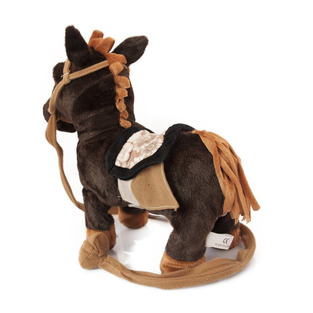 acd76dcf25 Amazon.com: My First Pony, Pet Walking Horse Leash Remote Controlled Plush  Toys with Music: Toys & Games
