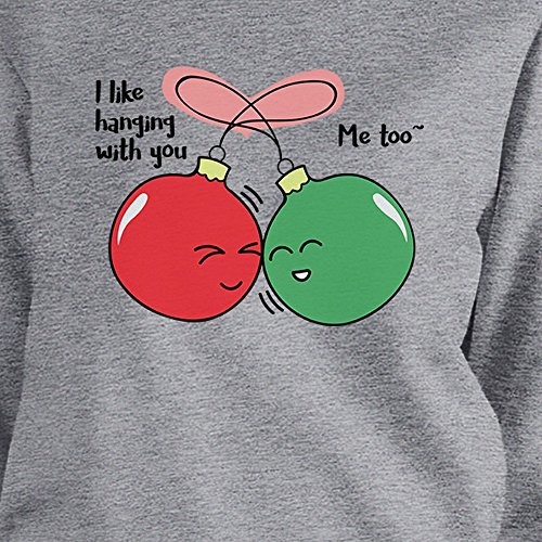 I Printing Manches You Taille shirt Longues Ornaments 365 Sweat Like Hanging With Femme Unique 8cdqBMCw