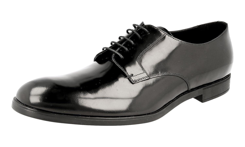 - Prada Herren 2ee105 Leder Leder Leder Business Schuhe d09