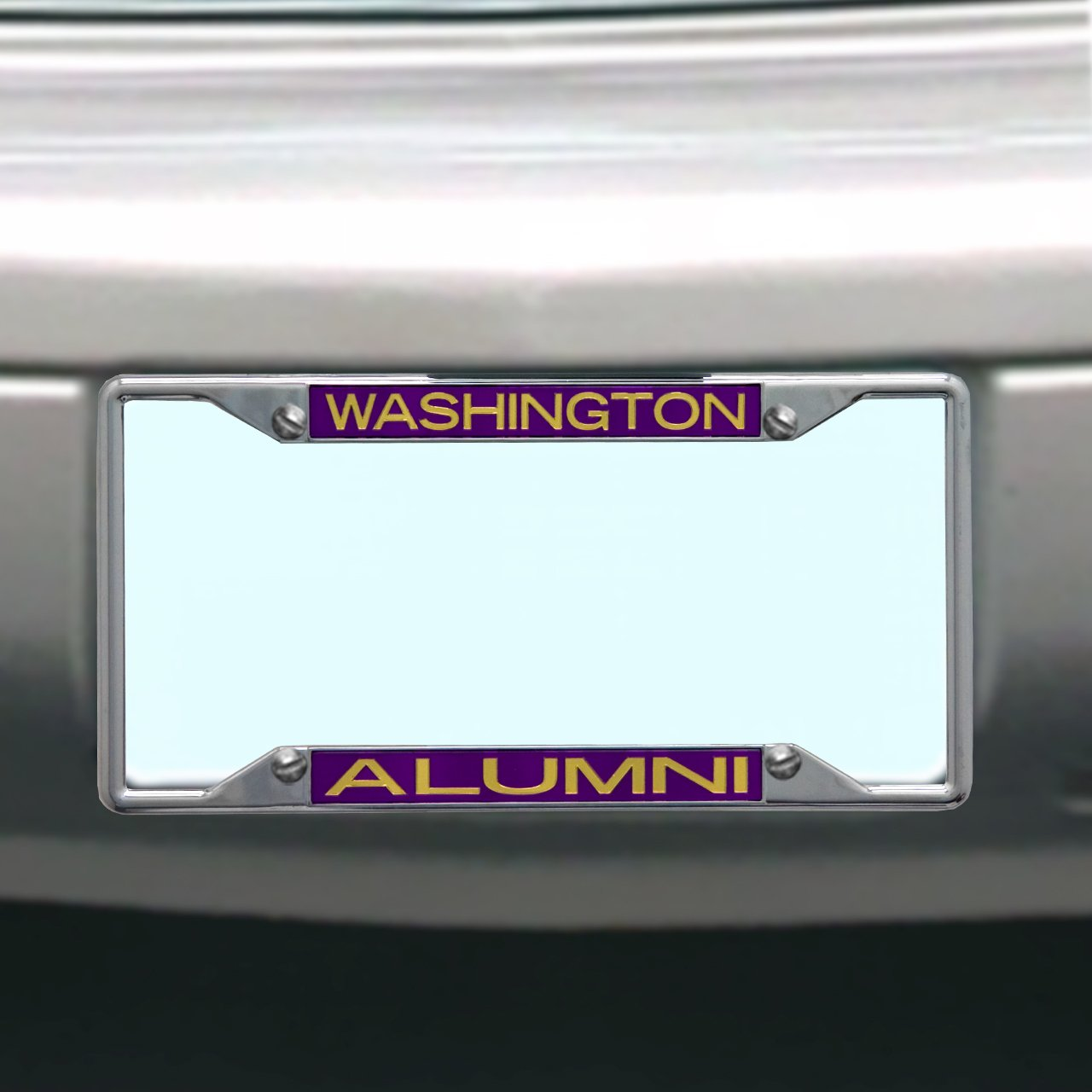 Amazon.com : NCAA Washington Huskies License Plate Frame Alumni ...