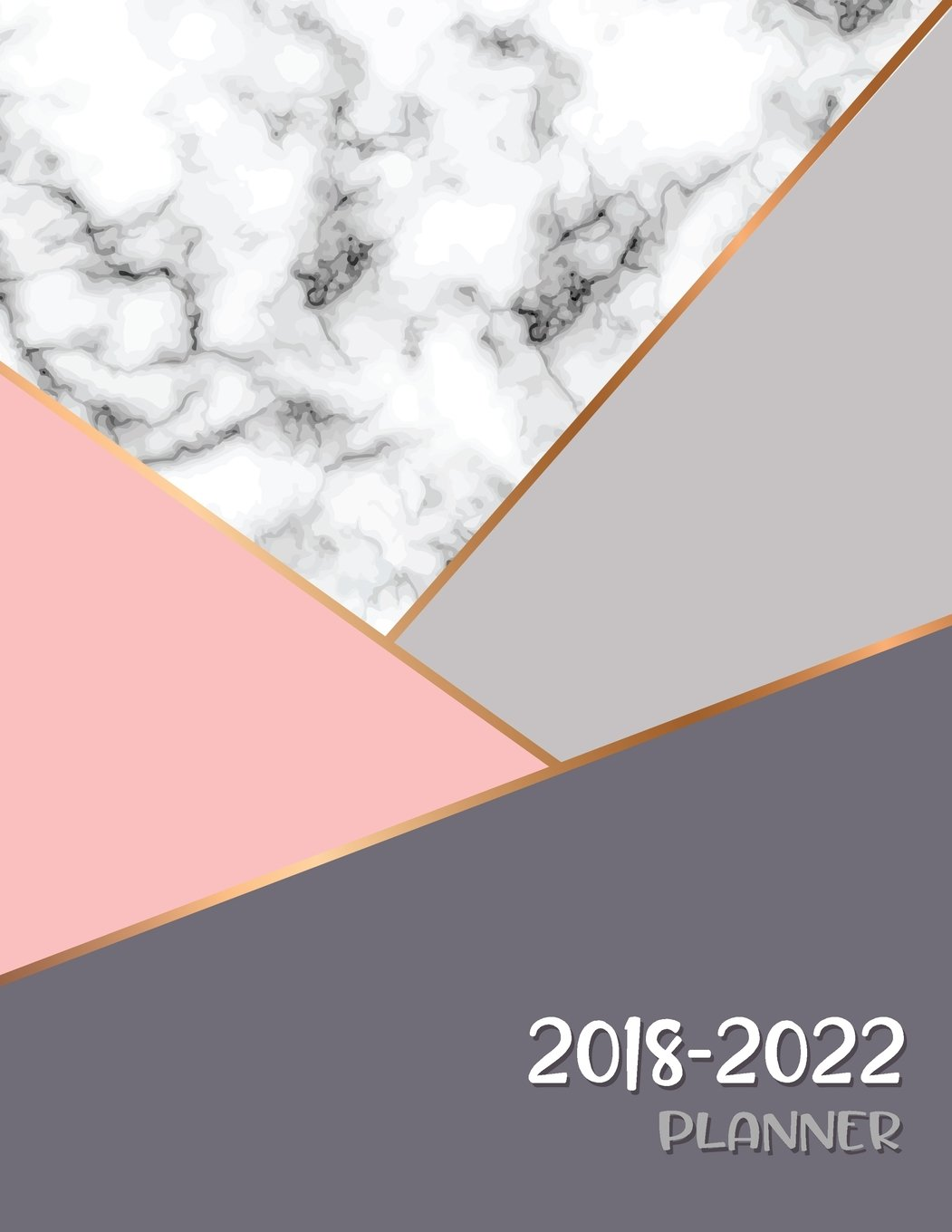 Amazon.com: 2018 - 2022 Planner: Agenda Planner For The Next ...