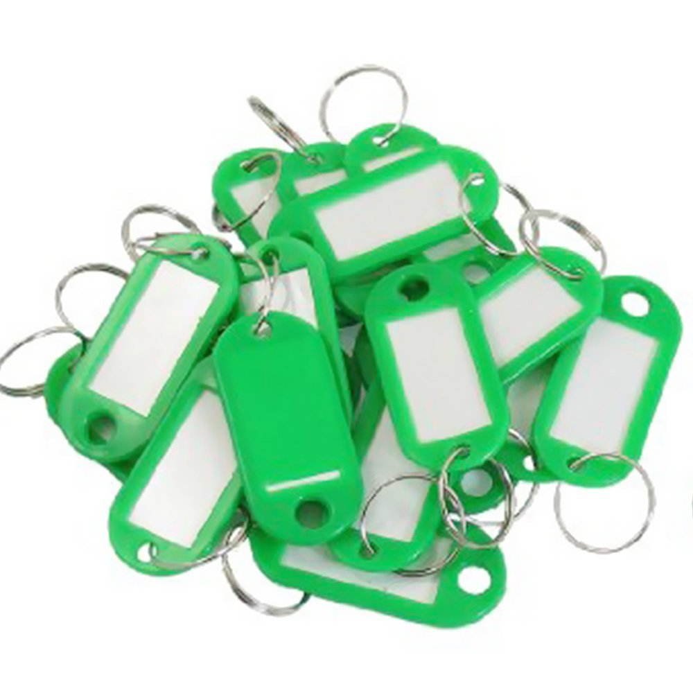 Sky Fish Luggage Tag Key ID Label Baggage With 10 Pieces Green