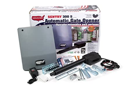 side facing usautomatic 020320 sentry 300 solar gate openers