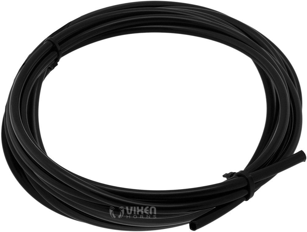 Vixen Horns 1//4 OD Nylon Plastic Hose Up to 225PSI 35 Feet for Train//Air Horn Systems and Other Suspension Applications VXA7143