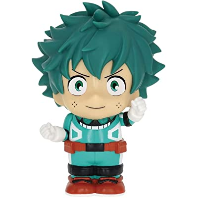 Funimation My Hero Academia Deku Figural Bank, Multi Color: Toys & Games