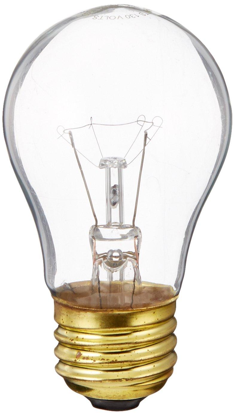 Bulbrite B40A15C 130V 40-Watt Incandescent A15 Appliance Bulb, Clear