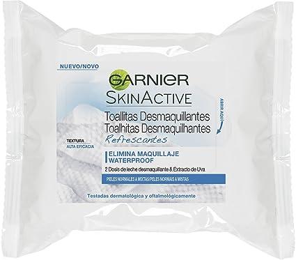 Garnier Skin Active Toallitas desmaquillantes refrescantes