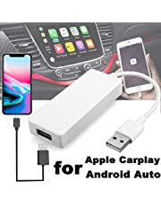 Finetoknow USB Carplay Dongle, USB Android Navigation Player Smart Link Dongle para Apple CarPlay Android Car Auto