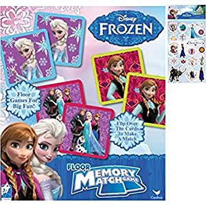 Amazon Com Disney Frozen Memory Match Game Holiday Gift