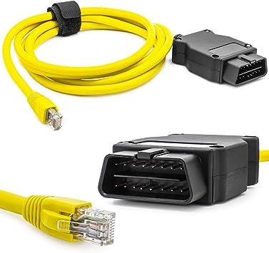 Enet Ethernet Interface Obd Kabel Codierung Rj45 Programmierung Diagnose Gerät Auto