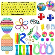 Sensory Irritability Toy Set 41 PCS, Fidget Toys Pack,Stress Relief and Anti-Anxiety Toy Set,Special Party Gif