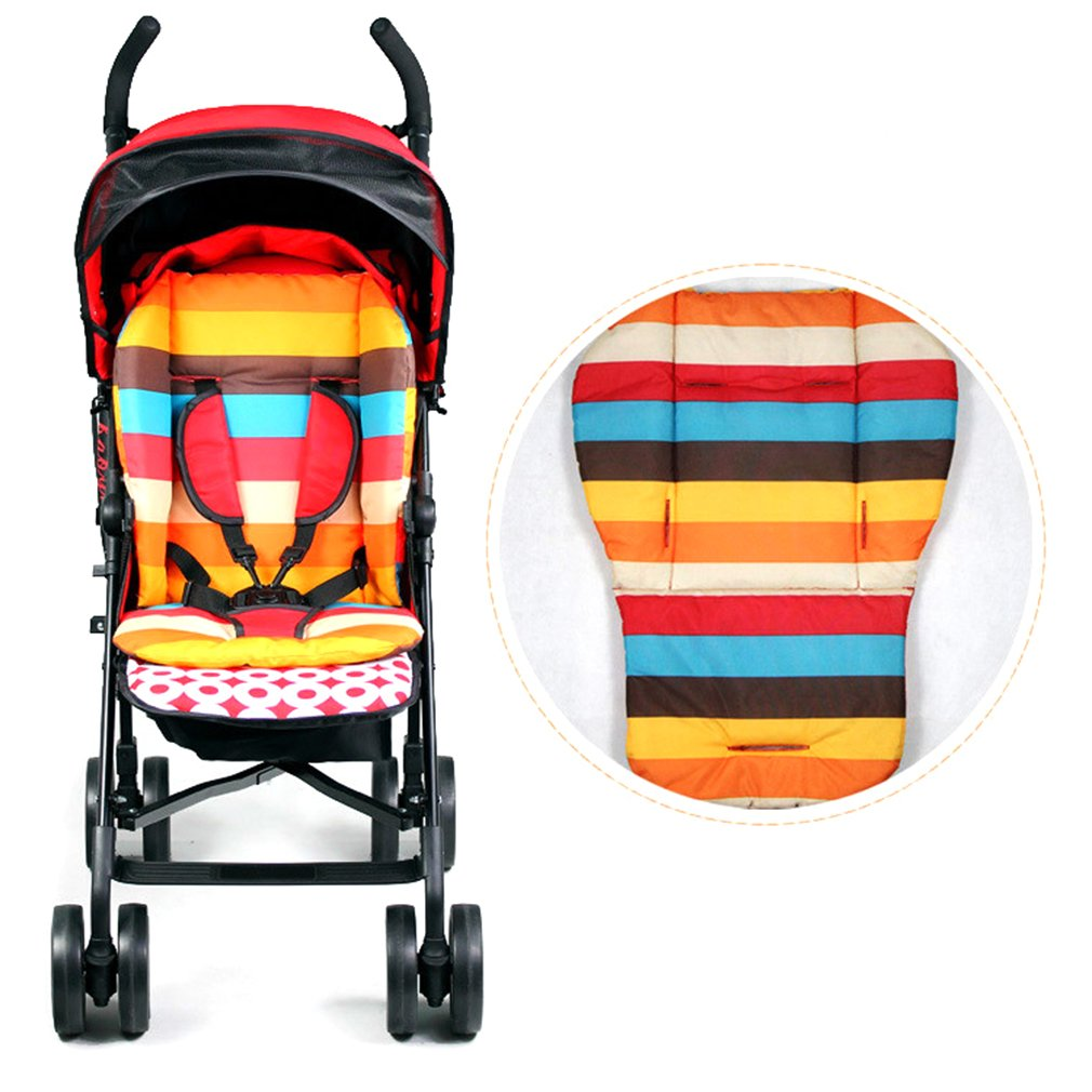 Naisidier Thickening Waterproof Baby Learn Training Seat Bath Dining Cotton Cushion Baby Game Stroller accessories
