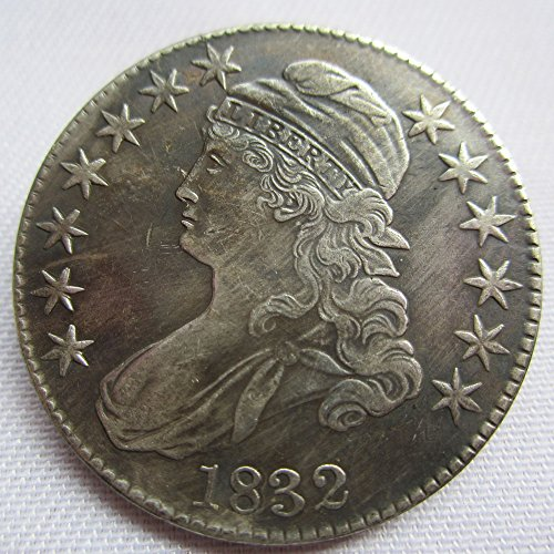 1832 USA Capped Bust Half Dollars Coins COPY - 1832 Half Dollar
