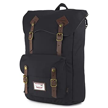 Amazon.com: DOUGHNUT American Vintage Cordura Backpack Black School Bag 8077C-0003-F DOUGHNUT Bags: School Bag Station