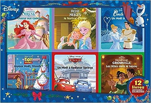 Amazon In Buy Disney Coffret 12 Livres Special Noel